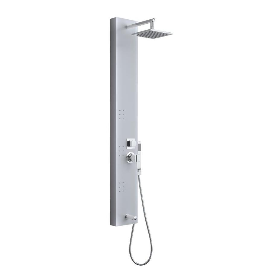 OVE Decors 3-Way Brushed Stainless Shower Panel System
