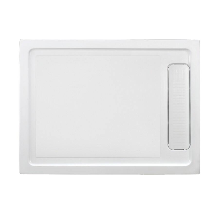 White Acrylic Shower Base (Common: 32-in W x 48-in L; Actual: 32-in W x 48-in L) Product Photo