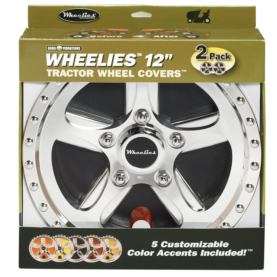GOOD VIBRATIONS 12-in Wheel Covers