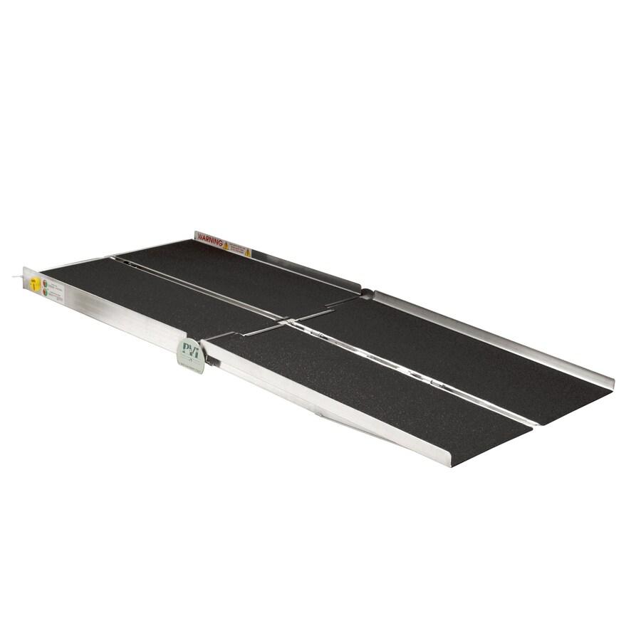 5-ft x 30-in Aluminum Folding Entryway Wheelchair Ramp
