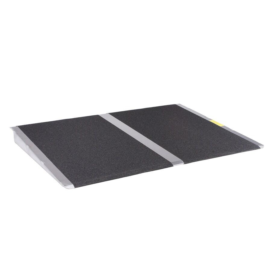 2-ft x 32-in Aluminum Threshold Doorway Wheelchair Ramp
