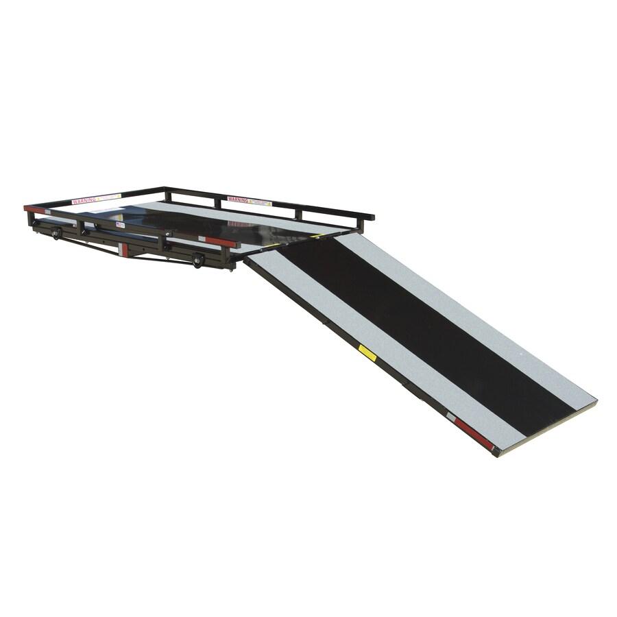"""2'6"""" x 4' 350 Lb. Capacity Aluminum Loading Ramp"""