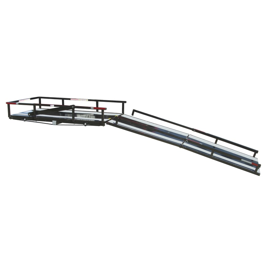 Hitch Mount Carrier with 6-ft Folding Ramp