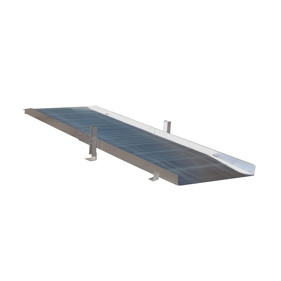 9-ft x 36-in Aluminum Solid Entryway Wheelchair Ramp