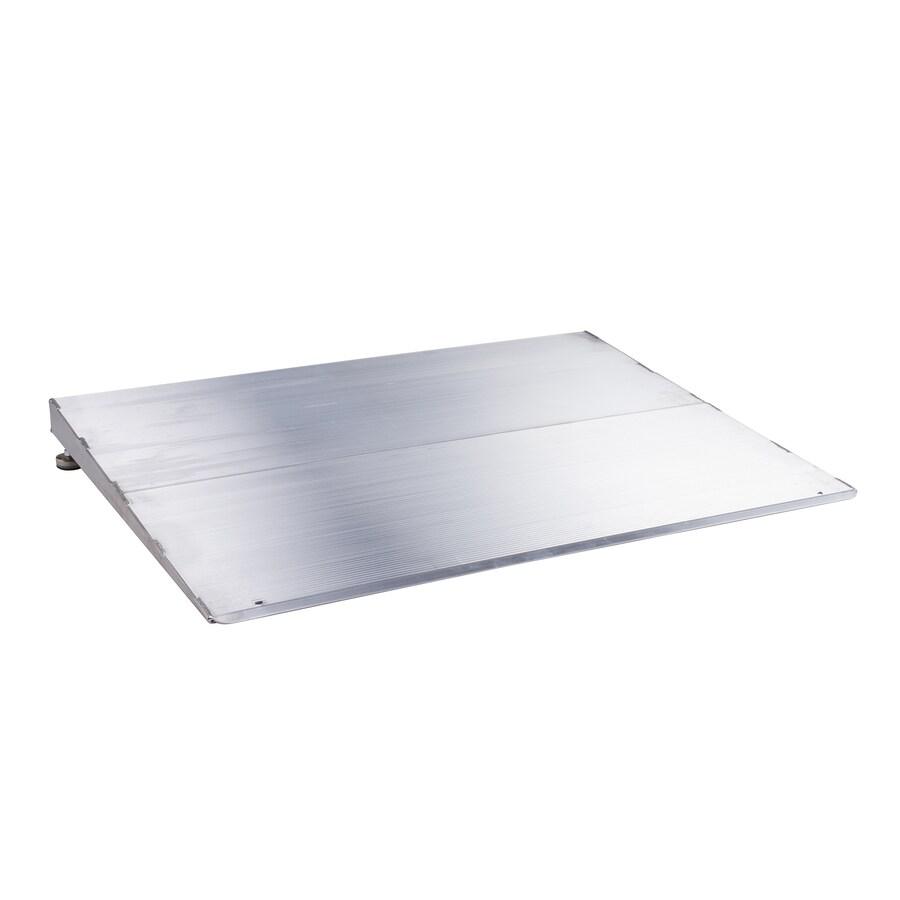 4-ft x 32-in Aluminum Threshold Doorway Wheelchair Ramp
