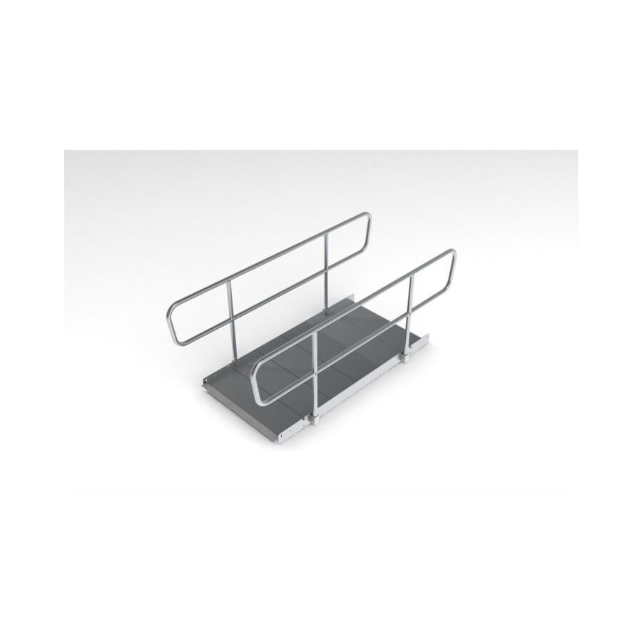 4-ft x 36-in Aluminum Modular Entryway Wheelchair Ramp