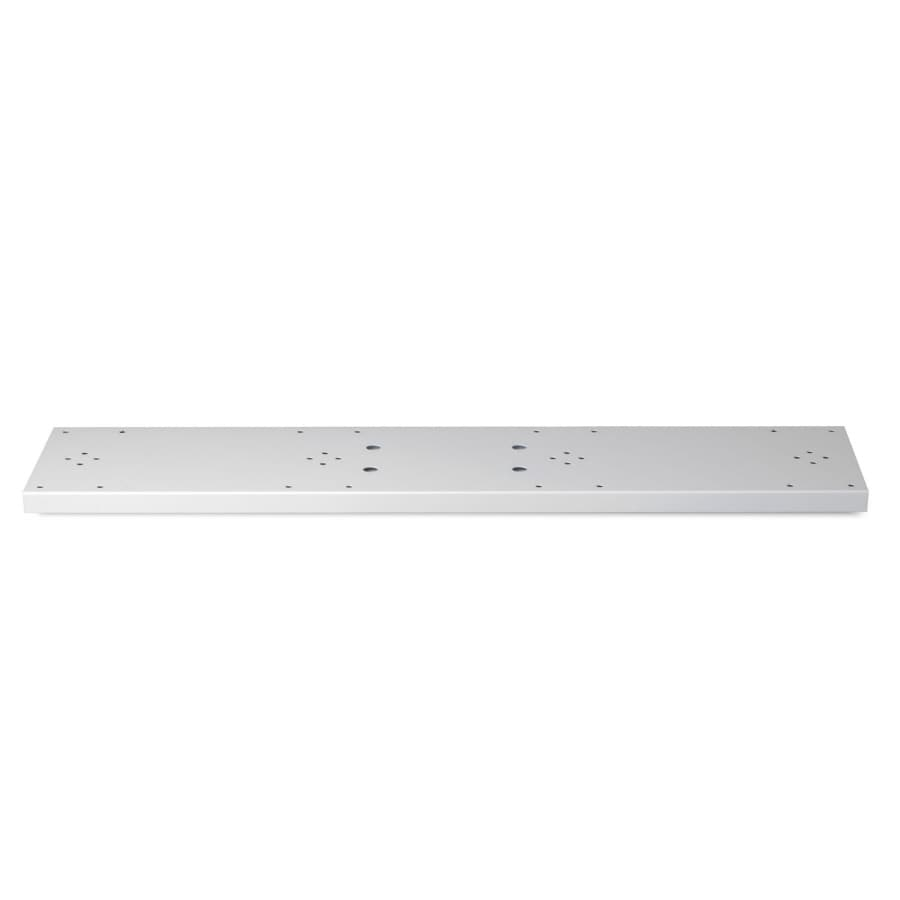 Architectural Mailboxes Quad Spreader Plate Pearl Gray