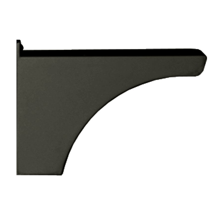 Architectural Mailboxes Decorative Post Side Bracket Black