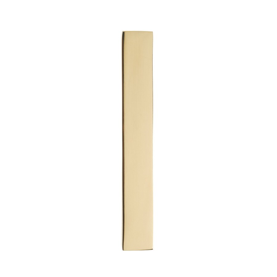 Architectural Mailboxes 4-in Polished Brass House Number 1