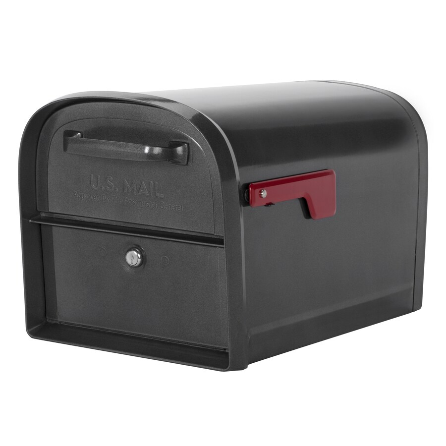 Shop Architectural Mailboxes Oasis Locking Mailbox 11 2 In