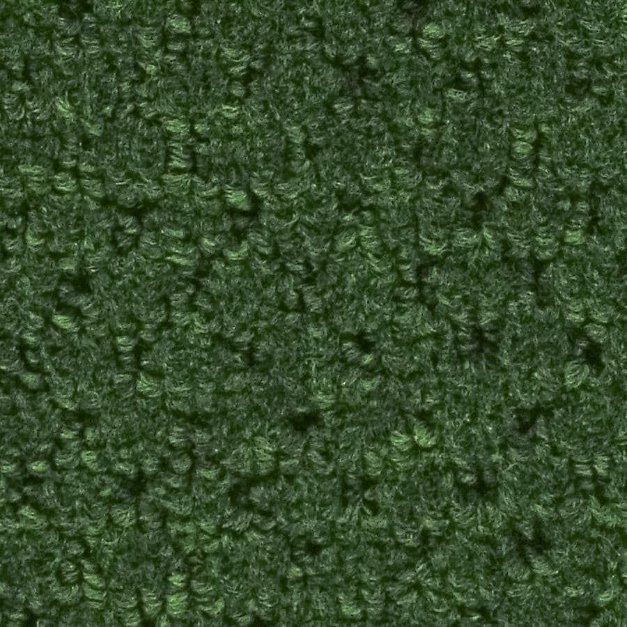 shop forest green berber indoor outdoor carpet at