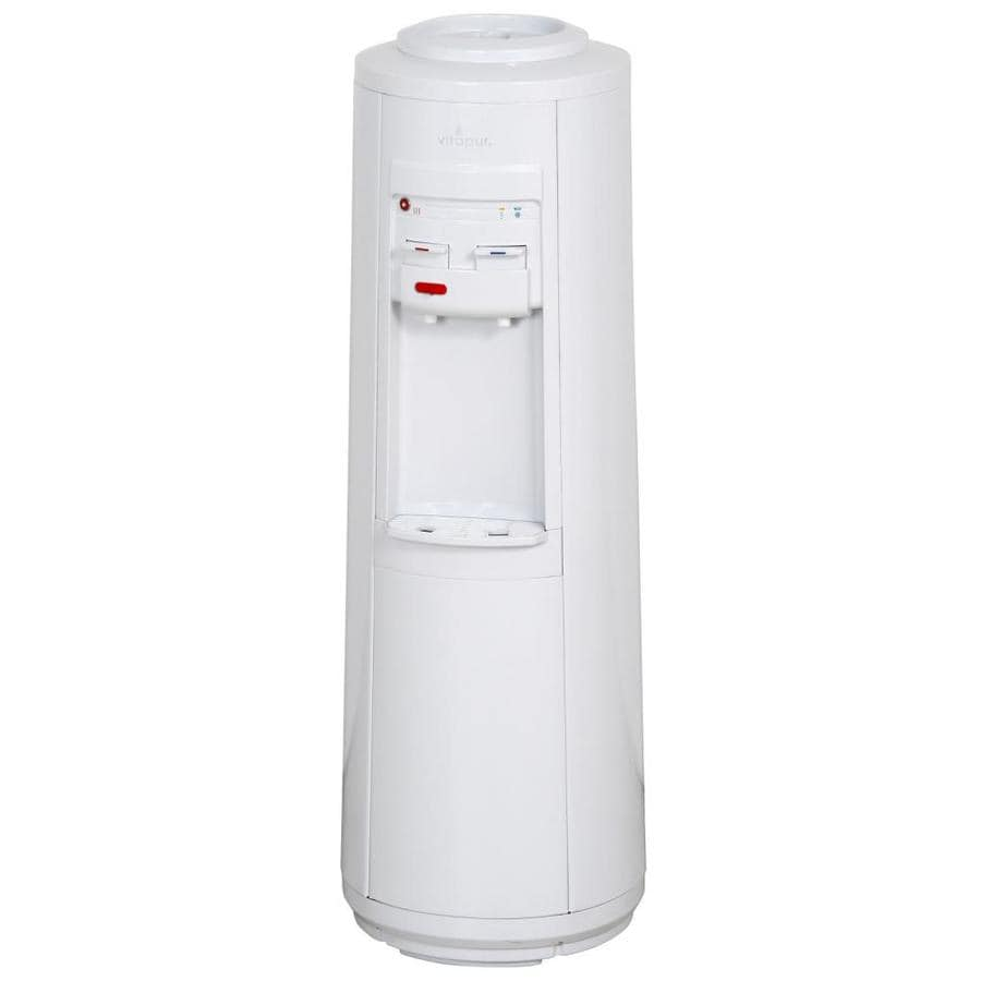 Vitapur White Top-Loading Cold and Hot Water Cooler ENERGY STAR