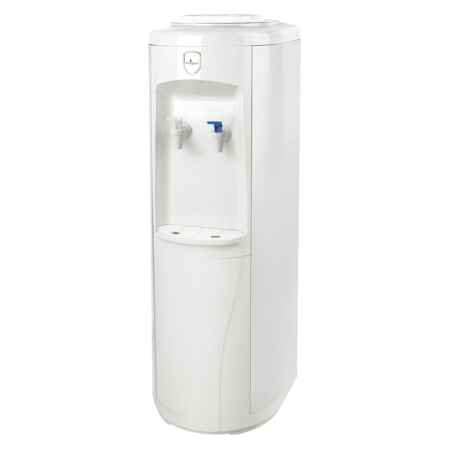 Vitapur White Top-Loading Cold Water Cooler ENERGY STAR