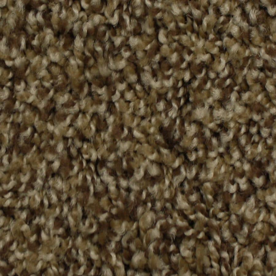 STAINMASTER Solarmax Winter Escape Pride Frieze Indoor Carpet