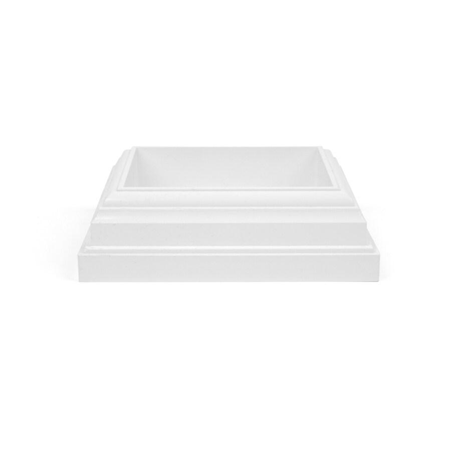 Fiberon HomeSelect White Composite Deck Post Skirt