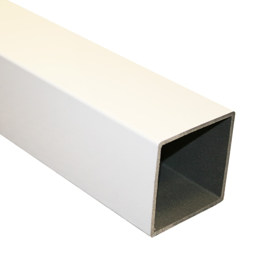 "Severe Weather 4"" x 4"" x 4"" White Composite Deck Railing"