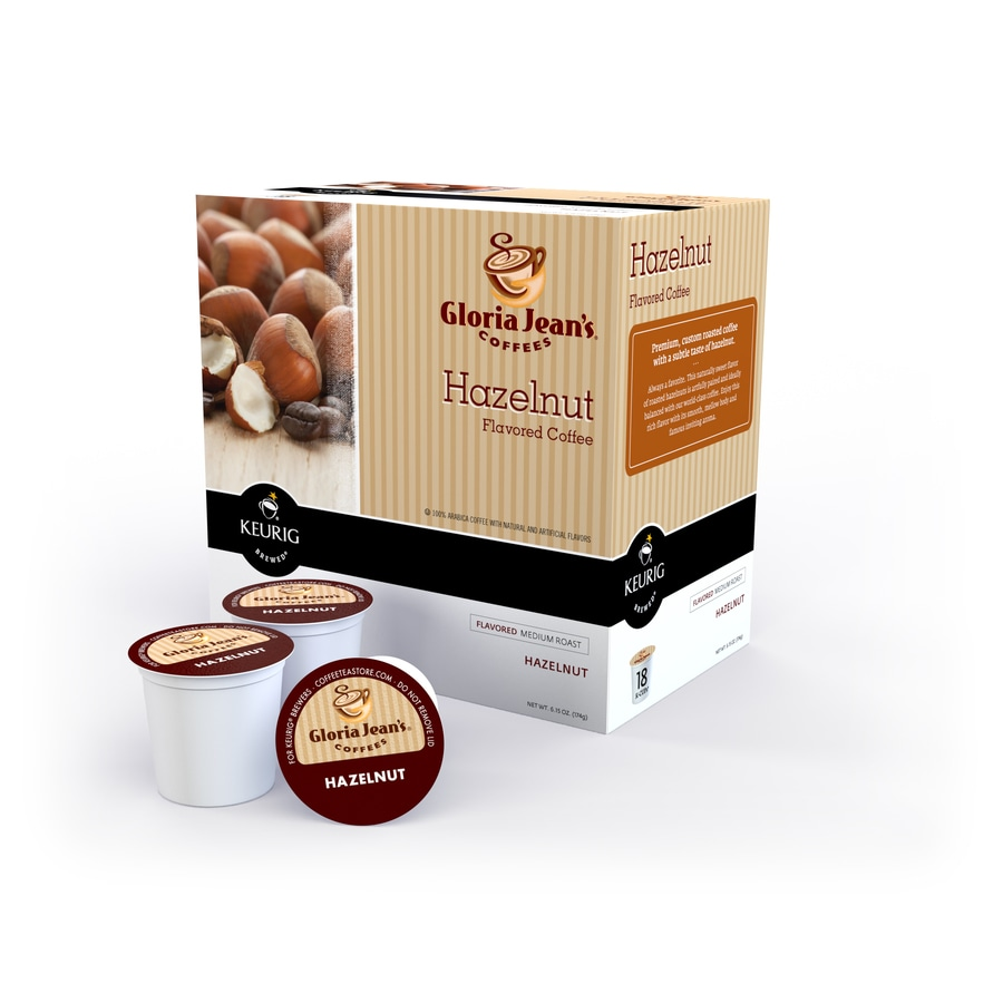 Keurig 18-Pack Gloria Jean's Hazelnut Single-Serve Coffee