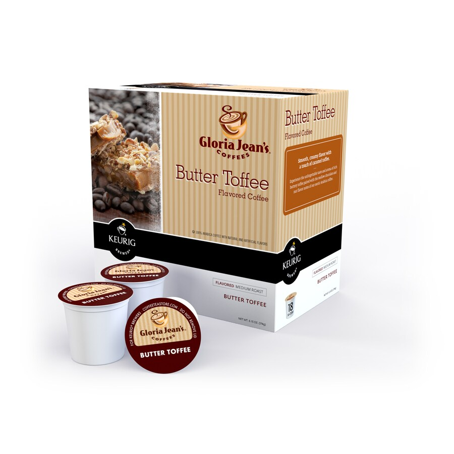Keurig 18-Pack Gloria Jean's Butter Toffee Single-Serve Coffee