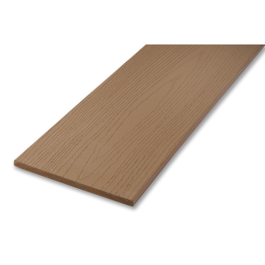 AZEK 1/2 x 8 x 12 Brownstone Composite Deck Trim Board