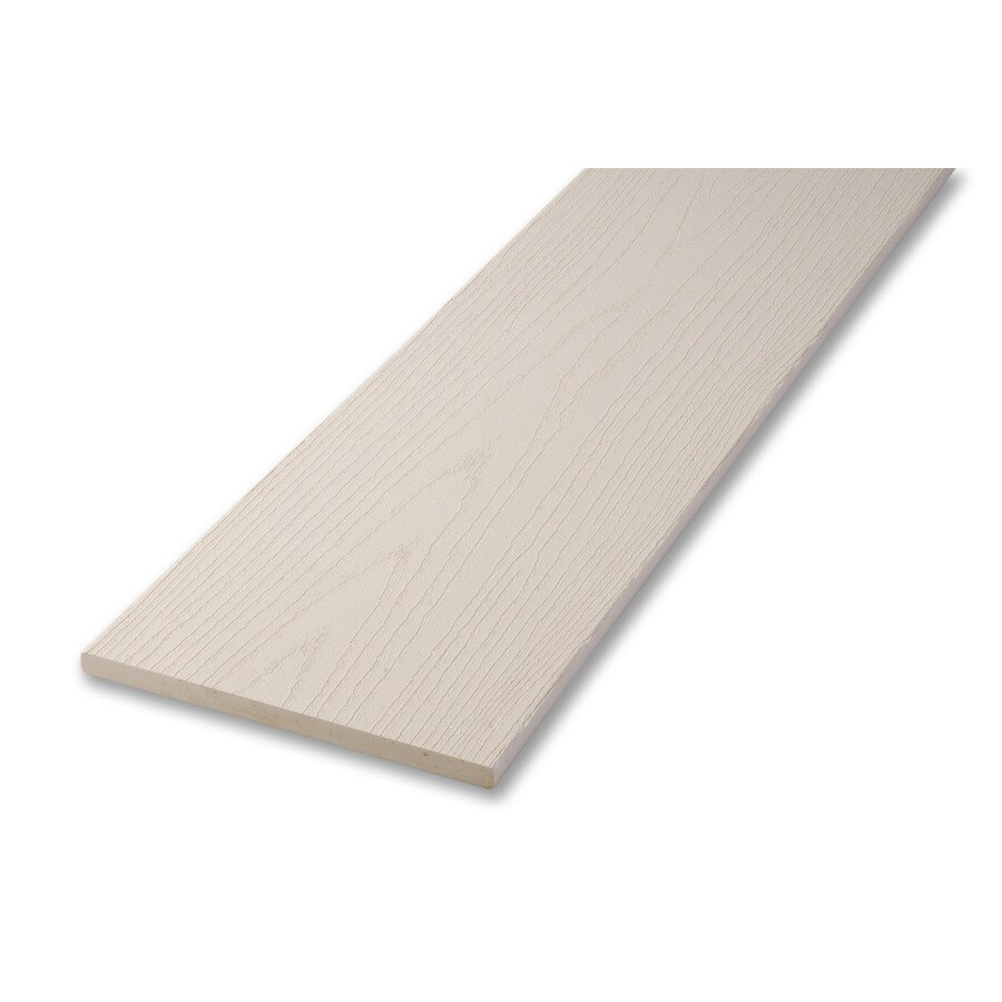 AZEK 1/2 x 8 x 12 White Composite Deck Trim Board