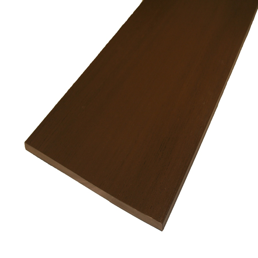AZEK Acacia Composite Deck Trim Board (Actual: 1/2-in x 11-3/4-in x 12-ft)