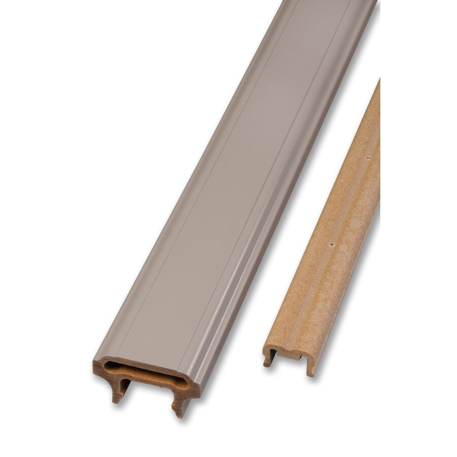 AZEK 72-in Slate Gray Composite Deck Railing Kit
