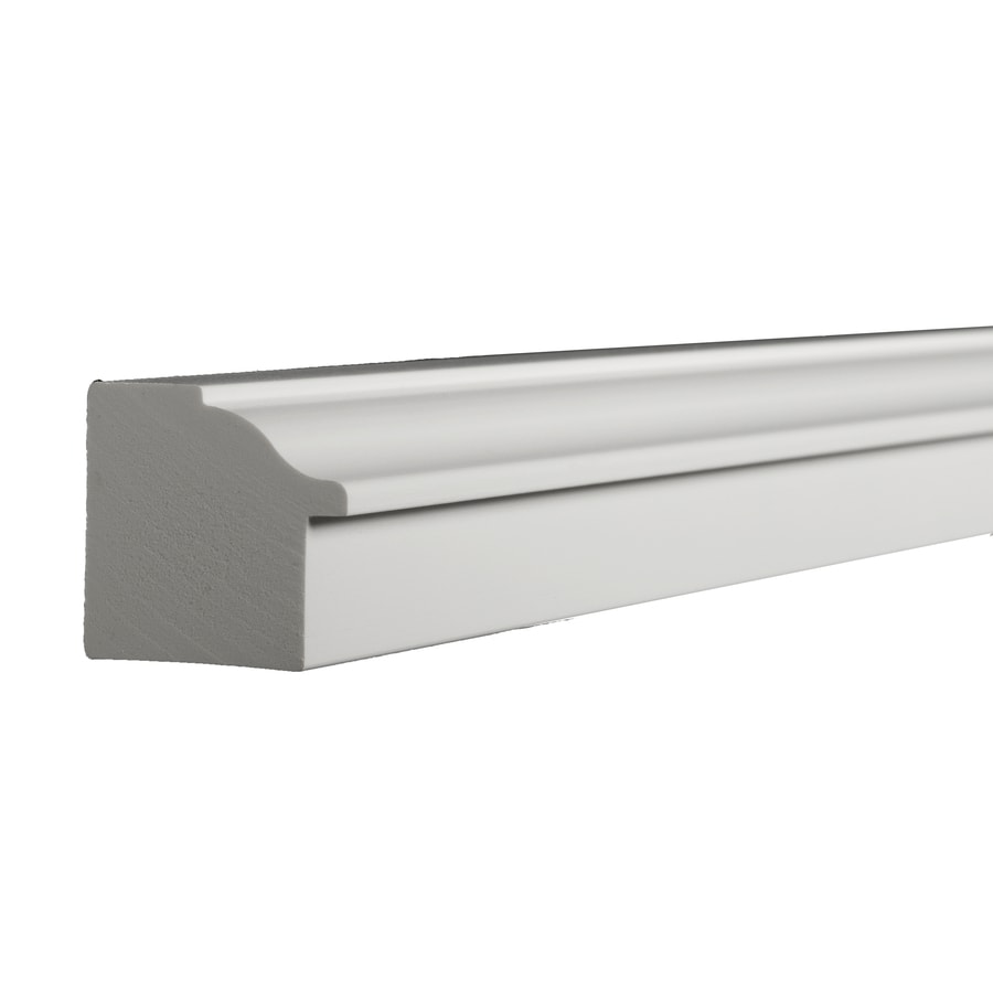 AZEK 1.187-in x 12-ft Interior/Exterior PVC Sill Nose Window Moulding