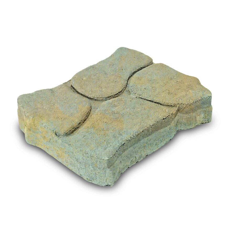 Tan-Charcoal/Stone Alameda Concrete Patio Stone (Common: 11-in x 13-in; Actual: 11-in x 13-in)