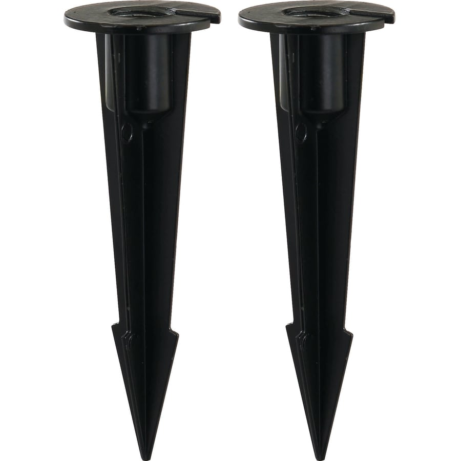 Shop Portfolio 2 Count Landscape Lighting Stakes At Lowes