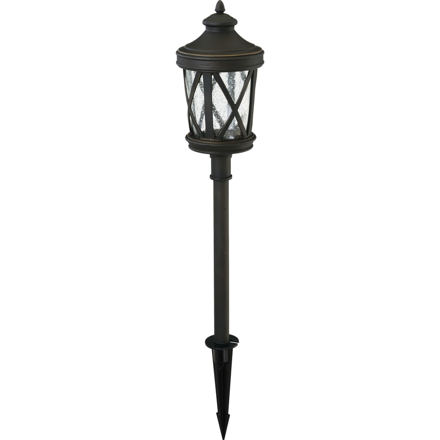 Portfolio Landscape Lighting Stakes : Portfolio watt oil rubbed bronze low voltage led