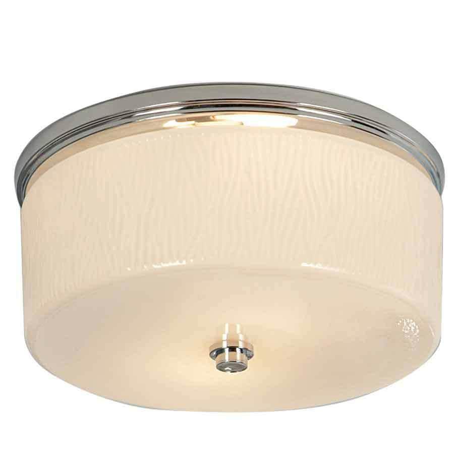 allen + roth 1.5-Sone 90-CFM Chrome Bathroom Fan with Light