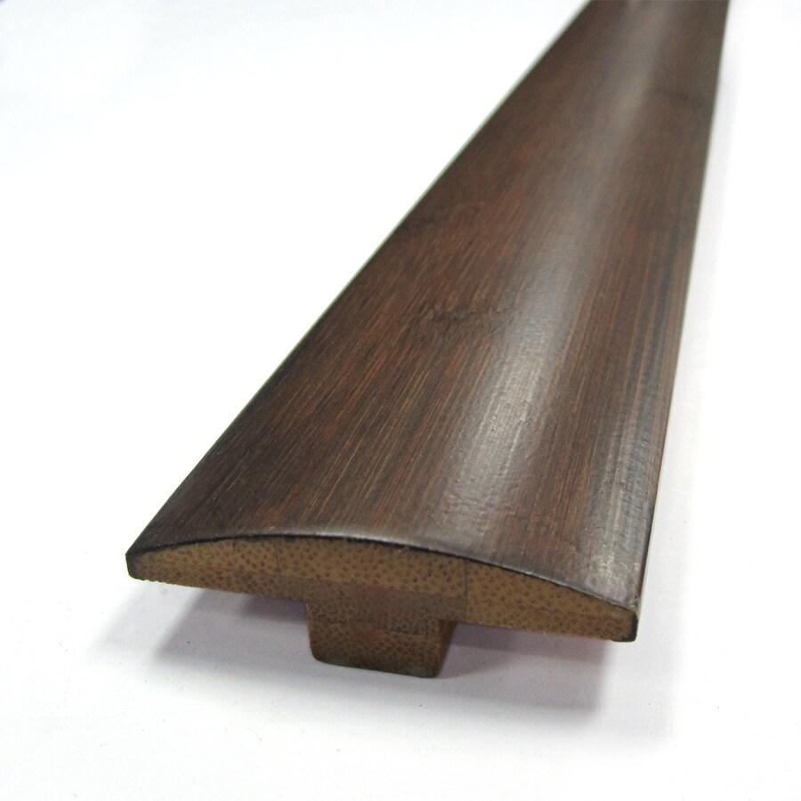 Natural Floors by USFloors 2-in x 72-in Dark Java Bamboo Floor T-Moulding