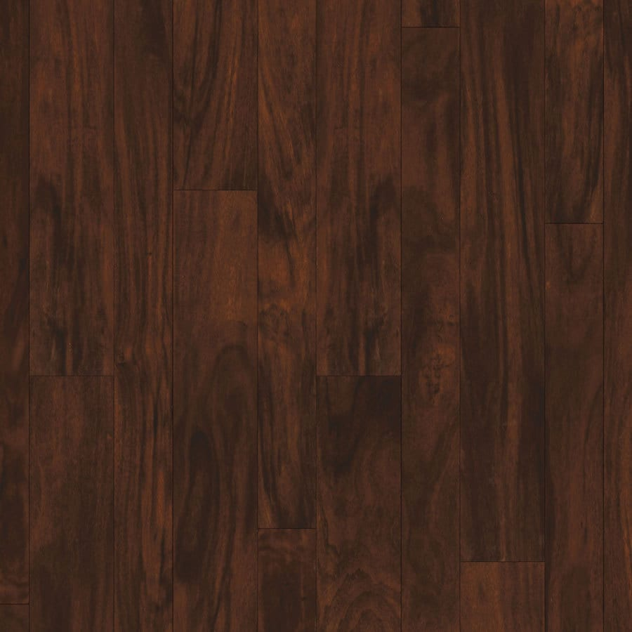 Shop natural floors by usfloors acacia hardwood flooring for Dark hardwood floors