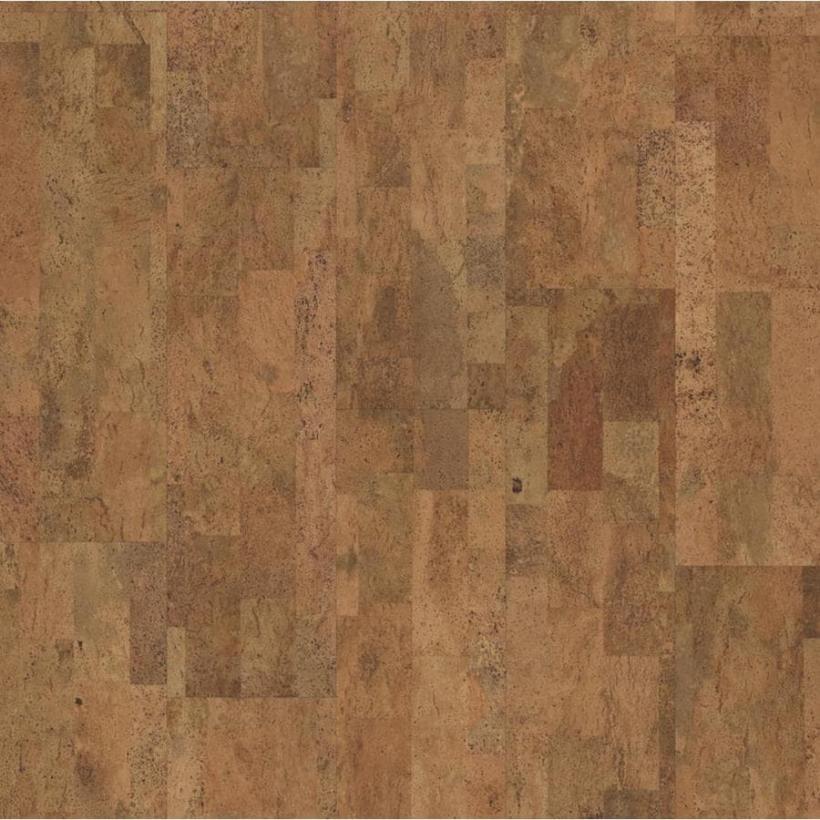11.81-in Natural Cork Hardwood Flooring (22.99-sq ft) Product Photo