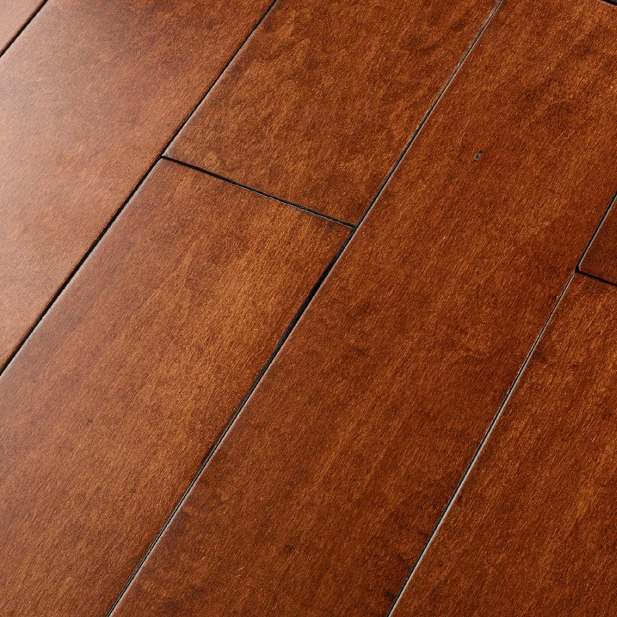 Natural Floors by USFloors 4.9-in W Prefinished Maple Locking Hardwood Flooring (Avalon)