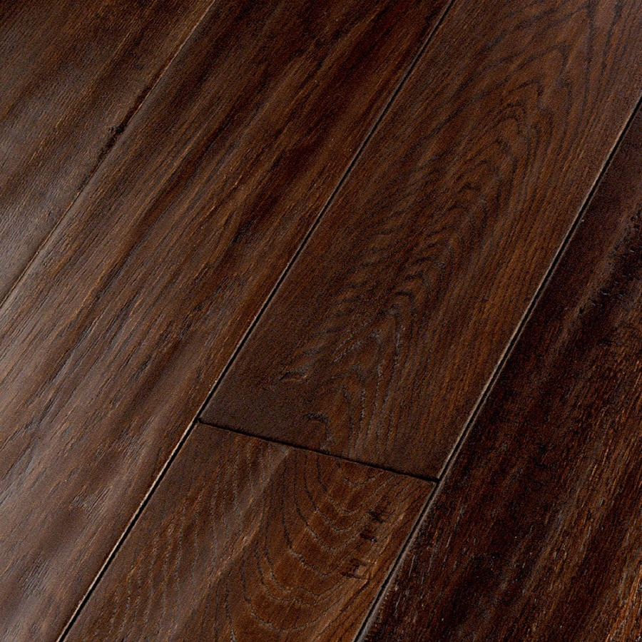 Shop natural floors by usfloors domestic handscraped 4 9 for Hickory flooring