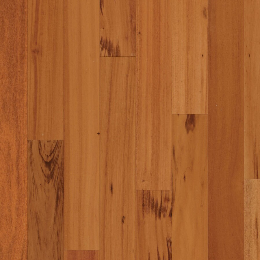 Natural Floors by USFloors Tigerwood Hardwood Flooring Sample (Natural ...