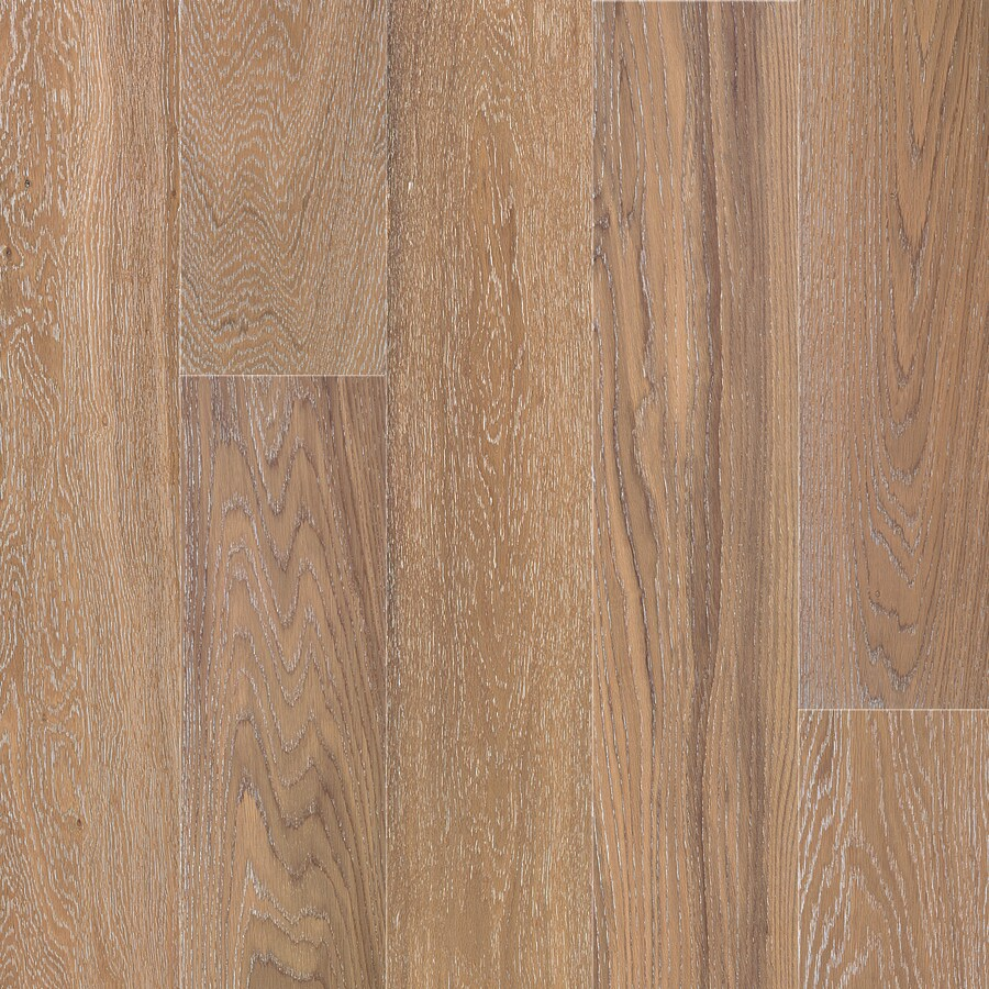 Natural Floors by USFloors 7.5-in W Prefinished Oak Locking Hardwood Flooring (White Wash)