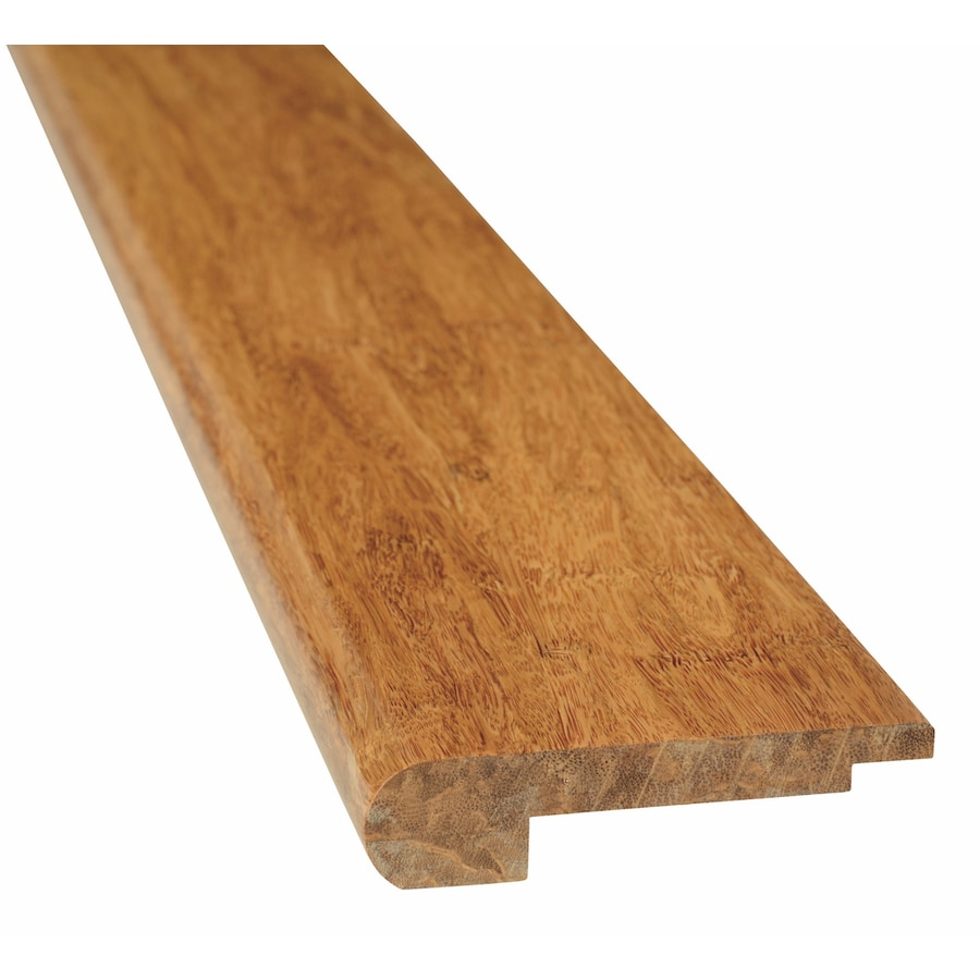Natural Floors by USFloors 3.67-in x 72-in Spice Bamboo Stair Nose Floor Moulding