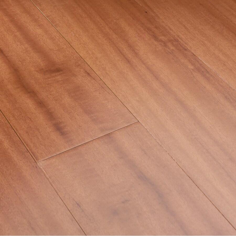 Natural Floors by USFloors Exotic 5-in Natural Tigerwood Hardwood Flooring (17.5-sq ft)
