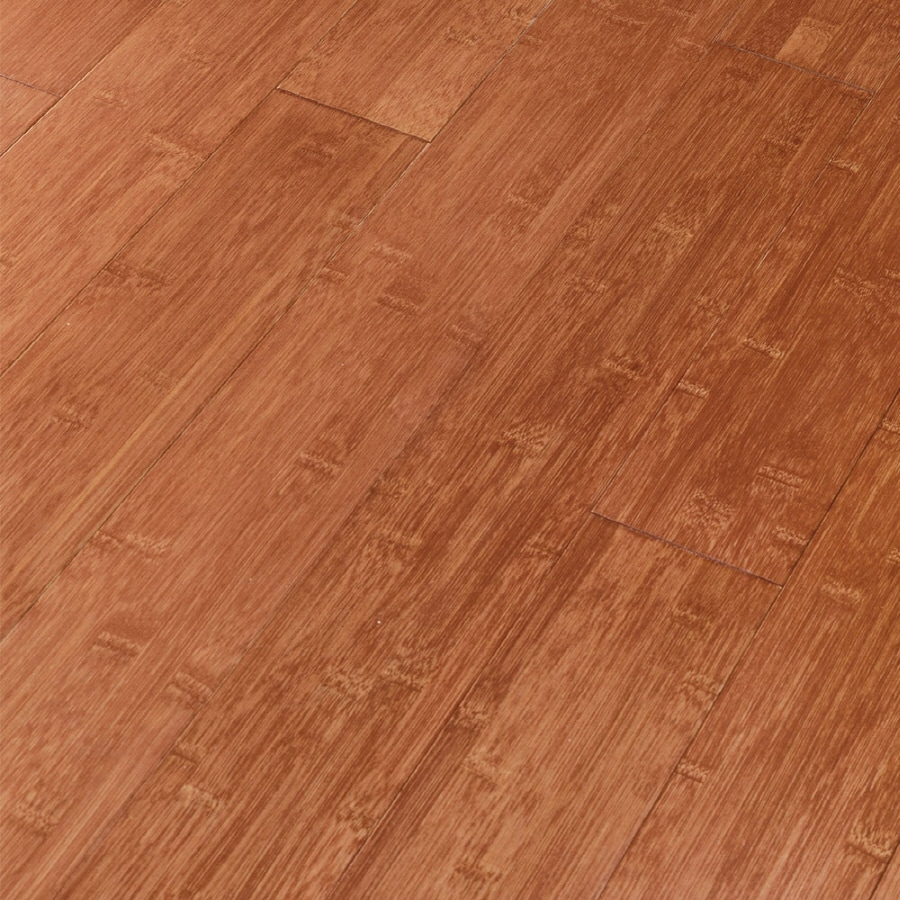 Natural Floors by USFloors Exotic 5.35-in W Prefinished Bamboo Locking Hardwood Flooring (Butterscotch)