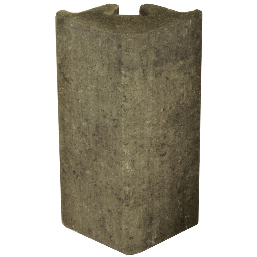 Novabrik 3.81-in x 8-in Smokey Mountain Blend Outside Corner Block Brick Veneer Trim