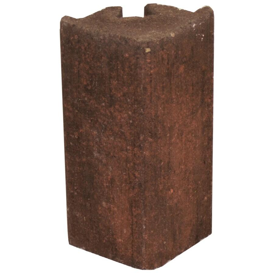 Novabrik 3.81-in x 8-in Arlington Blend Outside Corner Block Brick Veneer Trim