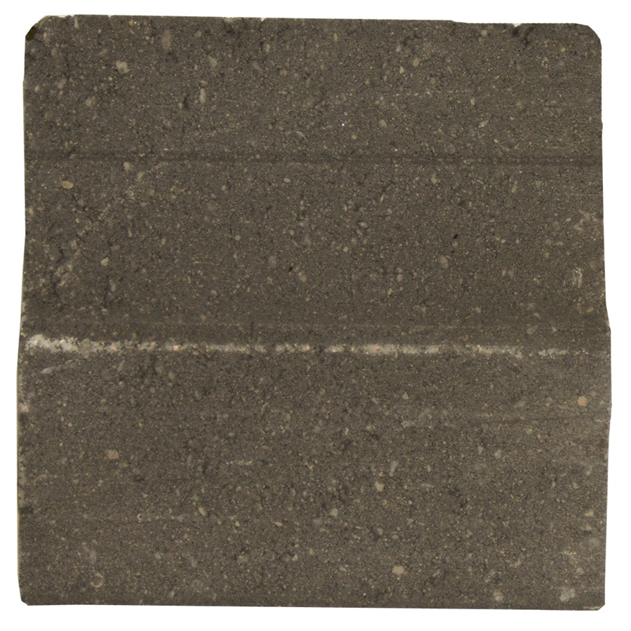 Shop novabrik 4 in x 8 in charcoal individual piece brick Mortarless stone siding