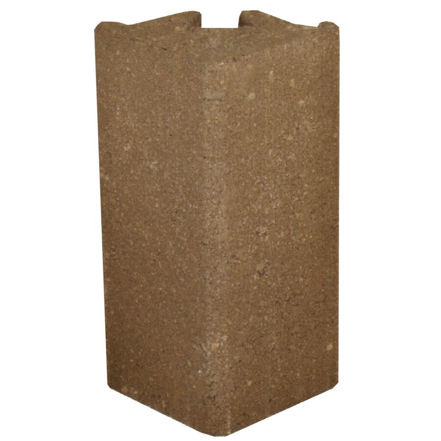Novabrik 3.81-in x 8-in Walnut Outside Corner Block Brick Veneer Trim