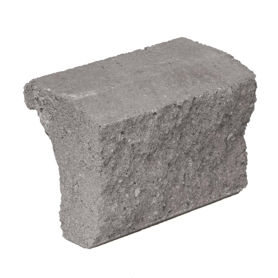 Novabrik 3.87-in x 7.87-in Charcoal Wainscot Caps Brick Veneer Trim