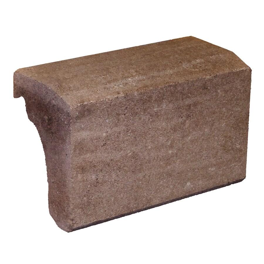 Novabrik 3.87-in x 7.87-in Walnut Wainscot Caps Brick Veneer Trim