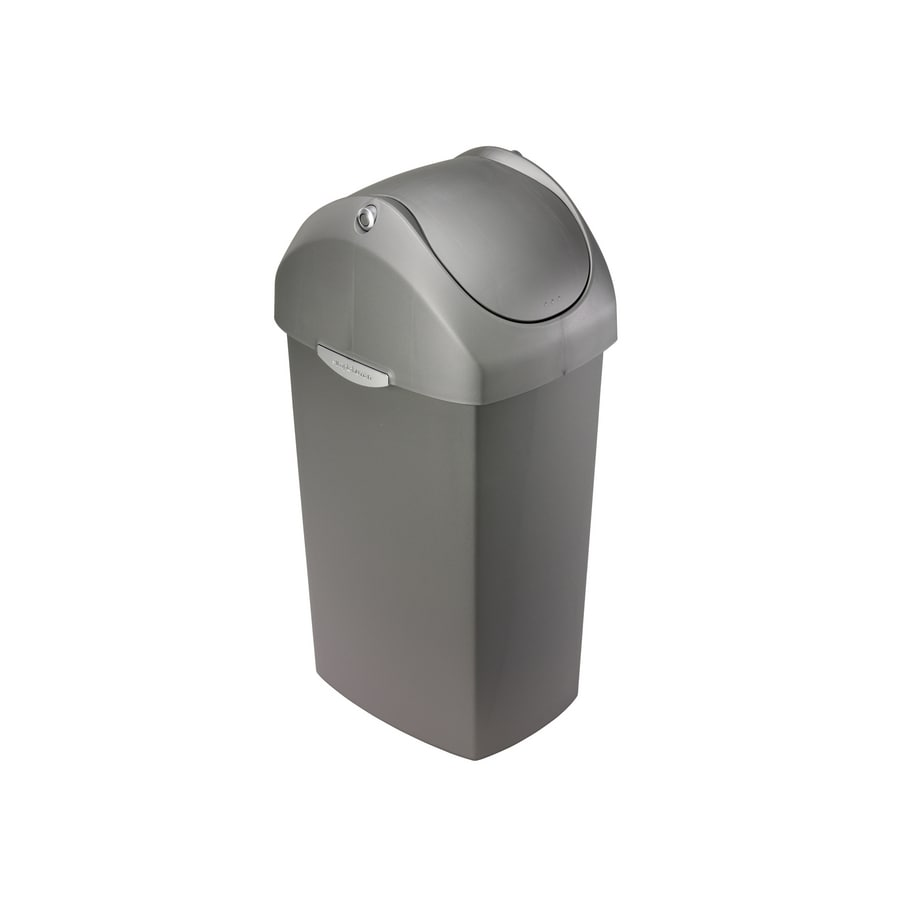 simplehuman Gray Trash Can