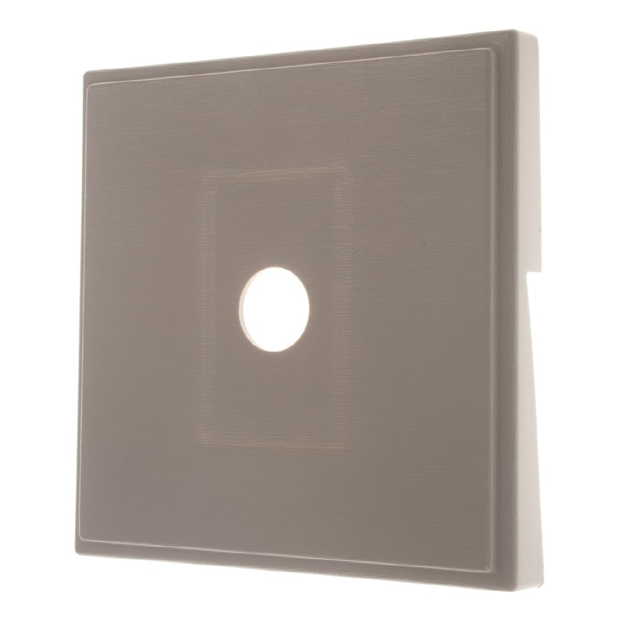 Severe Weather 7-in x 7-in Clay Vinyl Light Mounting Block
