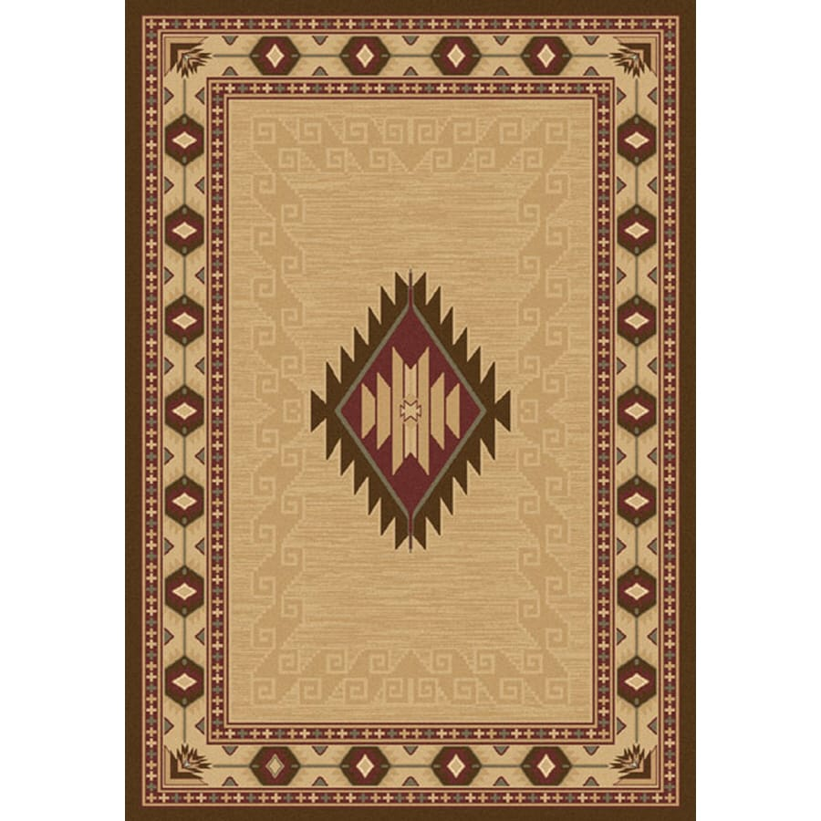 Balta Rectangular Woven Throw Rug (Common: 2 x 4; Actual: 23-in W x 43-in L)
